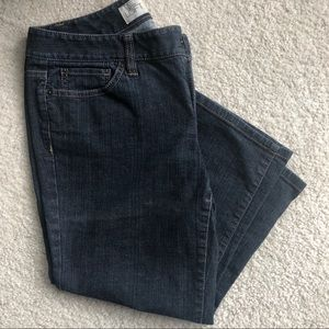 LOFT skinny cropped jeans